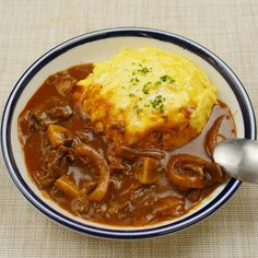 Omurice, Asian Recipes, Ethnic Recipes, Wonderful Things, Japanese Food, Food Photo, Chili, Curry, Lunch Box