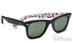 Will you be adding these fun new Anniversary Mickey Mouse Ray-Ban Sunglasses to your wardrobe? Ray-Ban and Disney have teamed up once more, with new Anniversary Mickey Mouse Ray-Ban Sunglasses in honor of the momentous anniversary.