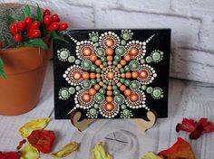 Artículos similares a Mini Mandala. Mandala hermoso, brillante. Un regalo único para alguien cercana y querida de la persona. en Etsy