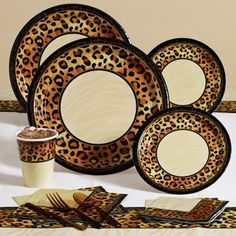 Have a Wild Animal Print Party Blast! Read On To Find a Step by Step Guide to Organize a Wild Animal Print Party. & Leopard Print Dinner Plates 8ct | Maid of honor | Pinterest ...