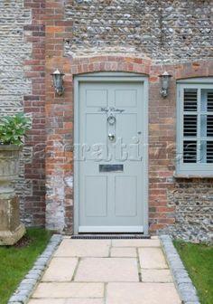 Green Front Door i want to paint my front door sage green! | home | pinterest