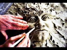 Clay ART SCULPTURE - GUARDIAN OF FOREST - making of ceramic plastic time...