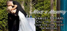 possible venue; Wedding Venues in Springfield MO Samuel Cedars -Samuel Cedars