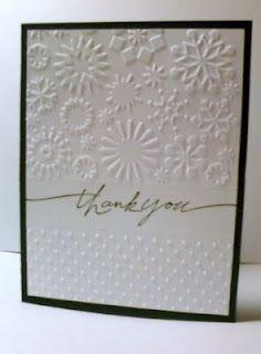 Handcrafted Memories: Cuttlebug Folder Cards