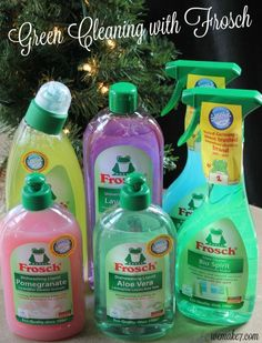 Chemical Free Cleaning with Frosch Cleaning Products #MomsMeet #Frosch - WEMAKE7