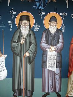 What St. Porphyrios of Kavsokalyva and St. Paisios the Athonite Said About Each Other | MYSTAGOGY RESOURCE CENTER