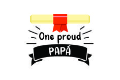 One Proud Papa (SVG Cut file) by Creative Fabrica Crafts · Creative Fabrica Creative Flyer Design, Creative Flyers, Svg Cuts, Design Crafts, Cricut Design, Home Crafts, Improve Yourself, Logo Design, Logos