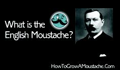 http://howtogrowamoustache.com What is the English Style Moustache?