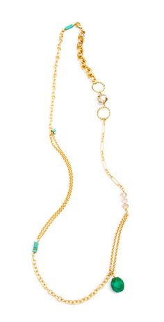 Grayling Variability Convertible Turquoise chunky Necklace at Mabel & Zora