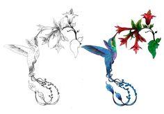 Hummingbird Tattoo - Awesome Designs