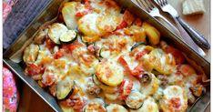 Kopytka z chorizo Good Food, Yummy Food, Polish Recipes, Polish Food, Cauliflower, Casserole, Dinner Recipes, Brunch, Cooking Recipes