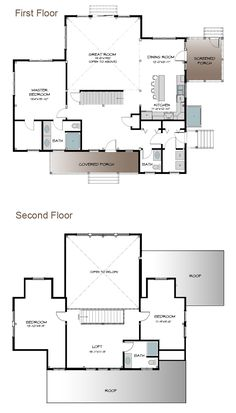 The Plymouth   Carriage House Plan   Cottage Style Home  Barn Home ...
