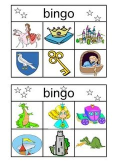 13 different Bingo Cards, calling cards included. 59 different images used. Two can share one Bingo Card which makes this an activiyt for the entire class. Princess Bingo, Medieval Knight, Calling Cards, Bingo Cards, Projects For Kids, Baby Kids, Comics, Knights, Classroom Ideas