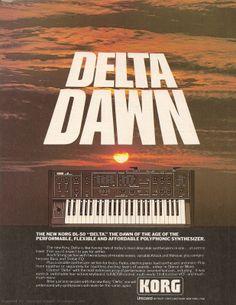 Korg Delta - no meu top 5 de favoritos de sempre