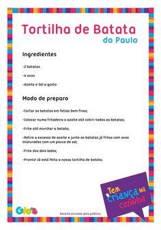 Tortilha de Batata do Paulo