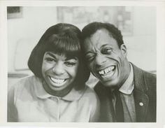 BEST EVER! (Thanks Marissa!)  Photo credit: James Baldwin and Nina Simone, ca 1960s. Photographer unknown. Photographs & Prints Division, Schomburg Center.