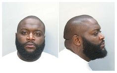 Rapper Rick Ross (real name: William Roberts) was arrested by Florida cops in January 2008 and charged with a felony for carrying a concealed gun and was also hit with a misdemeanor pot possession charge. Roberts, 32, was booked into a Miami lockup where he posed for the above mug shot. #MotorCityBailBonds #Bailbonds #Bailbondsmen