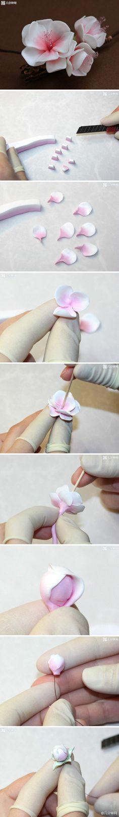 DIY Marshmallow Flower
