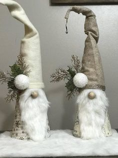 Cute decorative Christmas gnomes. Perfect way to brighten up any living space and add a cute pop of decoration