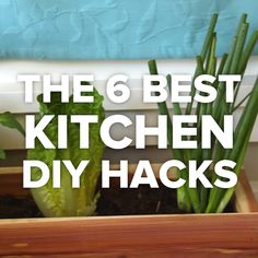 The 6 Best Kitchen DIY Hacks // #diy #hacks #Goodful #kitchen #kitchenhacks