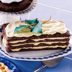 Lemon-Cream Spice Cake. #Wedding #Celebstylewed #Dessert. @Celebstylewed
