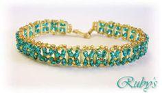 The peyote Lufantasygioie: Bugle bracelet