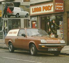 Lunn Poly + a 1980 Vauxhall Bedford Chevette 1970s Childhood, My Childhood Memories, Pillos, Commercial Vehicle, The Good Old Days, Back In The Day, Old Photos, Classic Cars, Nostalgia