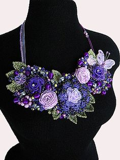 This Beaded Jewelry Pattern will teach you how to make these very popular and trendy necklaces.