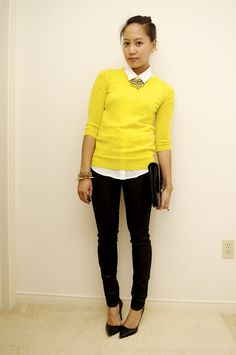 One Yellow Sweater, Three Ways. https://www.facebook.com/pages/Anderson-University-Flagship-Center/164894150233705?ref=hl