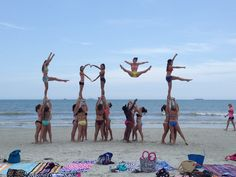 LoVe ChEeR StUnT #beach