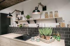 Küche Fliesen Wand - Ideen - Beleuchtung