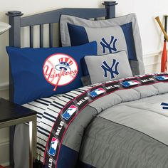 ny yankees under mlb bedding room decor accessories new york yankees - New York Yankees Bedroom Decor