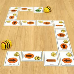Bee-Bot/Blue-Bot Giant Sequence Cards Inspiring and Engaging Teaching Resources, Technology and ICT, and Flexible School Furniture, to help Australian Schools create the most flexible and functional learning spaces available. Classroom Activities, Preschool Activities, Kindness Activities, Teaching Tools, Teaching Resources, Teaching Technology, Positional Language, Sequencing Cards, Stem Steam