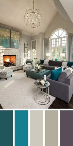 Living room neutral color palette | Interior Paint Colors in ...