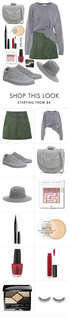 """Slytherin"" by theatrekid24601 ❤ liked on Polyvore featuring George J. Love, Balenciaga, Vans, Theory, Bobbi Brown Cosmetics, Rimmel, OPI, John Lewis and Christian Dior"