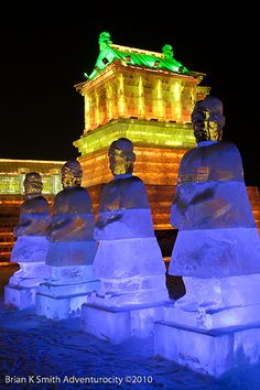 Harbin Ice and Snow World Sculptures - China