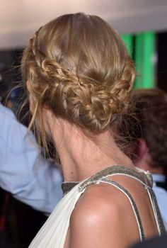 Evening hairstyle with boho braids :: one1lady.com :: #hair #hairs #hairstyle #hairstyles