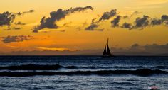 Sailboat at Sunset | The Design Foundry by thedesignfoundry, via Flickr