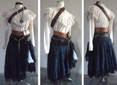 Your platform for buying and selling handmade items - Halloween Costumes Women Pirate Cosplay, Female Pirate Costume, Pirate Halloween Costumes, Diy Pirate Costume For Women, Costume Renaissance, Renaissance Outfits, Renaissance Clothing, Fantasy Costumes, Cosplay Costumes