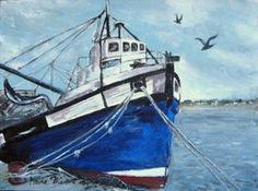 """Boat at Velddrif"""