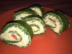 Spinach rolls
