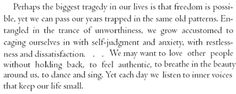 aseaofquotes: Tara Brach, Radical Acceptance - A Sea of Quotes
