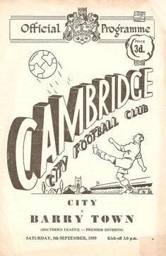 Cambridge City (A), British Football, Cambridge, Archive, Soccer, City, Vintage, Futbol, Uk Football, European Football