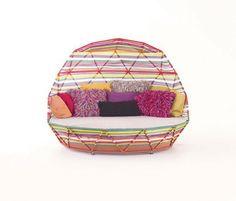 Outdoor Stylish Patio Furniture Types. Modern Design Patio Furniture.