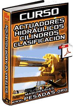 Curso: Actuadores Hidráulicos – Cilindros, Clasificación y Sistema de Amortiguación Heavy Metal, Broadway Shows, Hydraulic Cylinder, Heavy Machinery, Heavy Metal Music