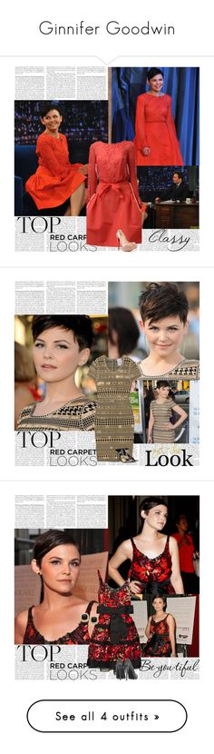 """Ginnifer Goodwin"" by tvshowobsessed ❤ liked on Polyvore featuring ouat, snow, Actress, GinniferGoodwin and ginnifer"