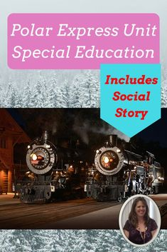 This Polar Express unit was developed for students with autism and special learning needs. There are a lot of Polar Express products out there. This one is specifically made to be engaging and help students make personal and authentic connections to the c
