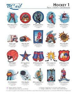 OESD Embroidery Machine Designs Hockey 1 #11059 by OESD, http://www.amazon.com/dp/B00CGXG4YA/ref=cm_sw_r_pi_dp_84hYrb19B42EZ