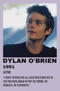 Dylan O'brien, Dylan O Brien Movies, Teen Wolf, Justin Foley, Tv Show Music, O Brian, Movie Covers, Minimal Poster, One Direction Memes