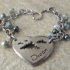 Dream Charm Bracelet by WireNWhimsy on Etsy, $45.00